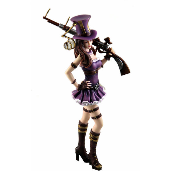 (NEW!!) Game anime figure PVC doll toy LoL Caitlyn the Best adc !! 99 Pieces on stock