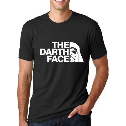 Star Wars T-Shirt The Darth Face Print T Shirt