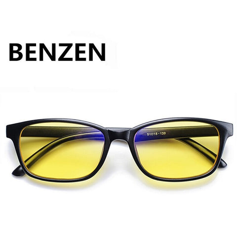 BENZEN Anti Blue Rays Computer Radiation-resistant (Black With Case) - GamerGift