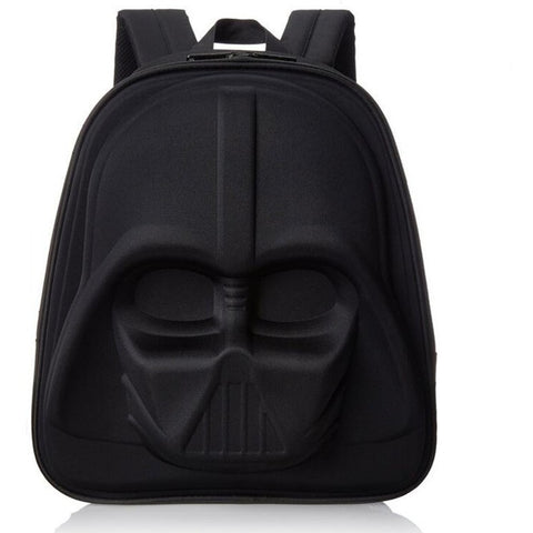 3D Black Knight computer kids bag