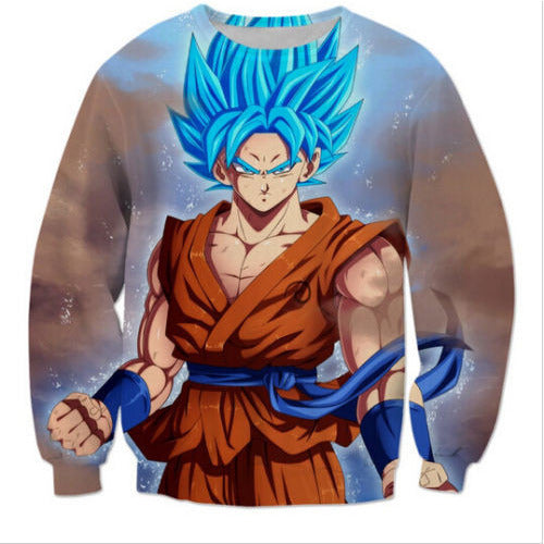 Dragon Ball Z Super Saiyan 3D Goku Sweatshirt