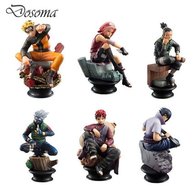 6 Pcs/set Naruto Action Figure