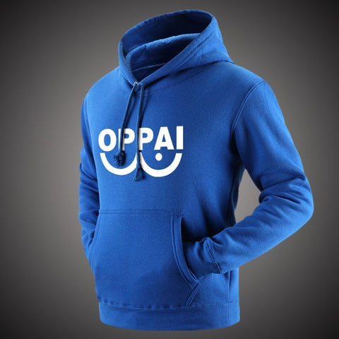 One Punch Man Hoodies Anime ONE Oppai Hoodies