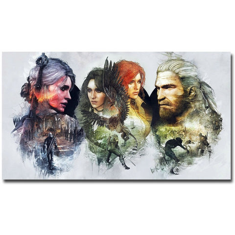 Witcher 3 Poster - Gamergift