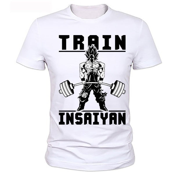 Dragon Ball Z T Shirt  To Beat Goku - Krillin  Fashion T-shirt