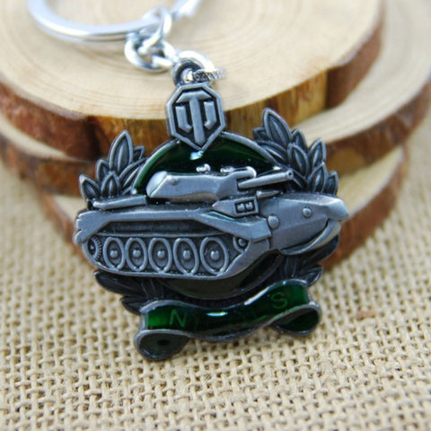 World of Tanks WOT Game Anime Key Chain