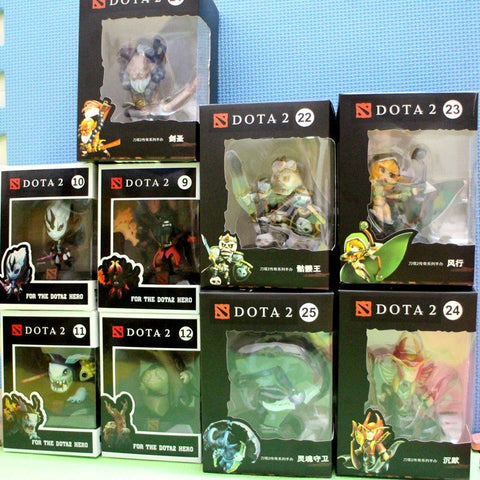 High Quality Dota 2 1pc Game Figure Toys PVC material