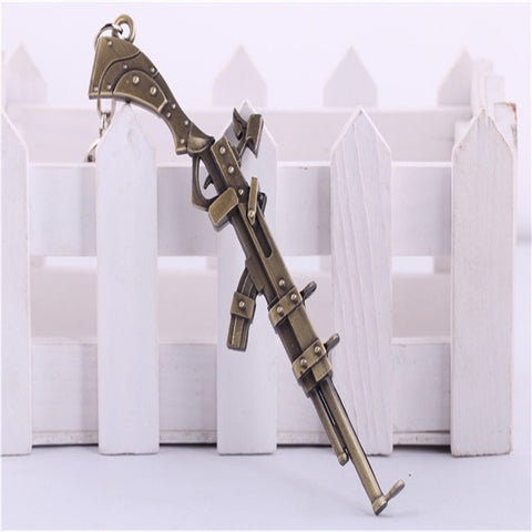 League of Legend The Sheriff of Piltover Caitlyn's Rifle Gun Keychain - loveit-shop