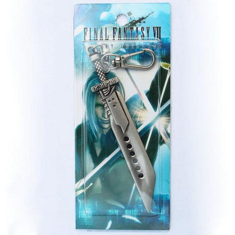 Final Fantasy VII 7 FF7 Cloud Sword  Keychain