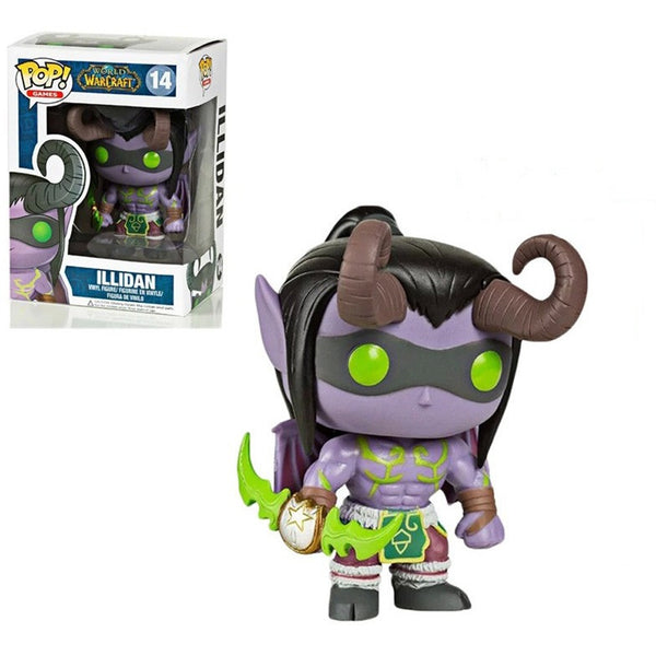 Heroes of the Storm ILLIDAN VER. Q PVC action figure model toy cool doll