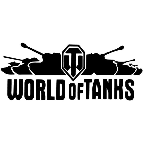 WORLD OF TANKS Interesting Vinyl Decal Car Stickers