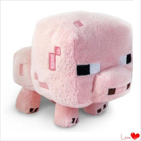 Minecraft Plush Toys 16CM Cute Pink Pig Soft Plush