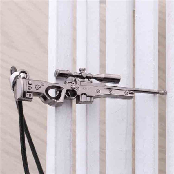 CSGO Alloy Weapon Gun AWP Necklace Men