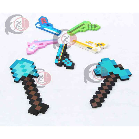 Minecraft Toys Minecraft Foam Diamond Sword Pickax Axe