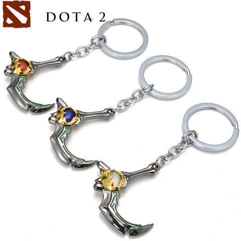 DOTA 2 Keychain Slark Skadi Blade Weapon Model - GamerGift