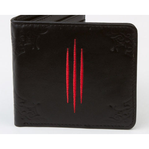 Diablo 3 genuine leather women wallet clutch money clip purs storage bag - GamerGift