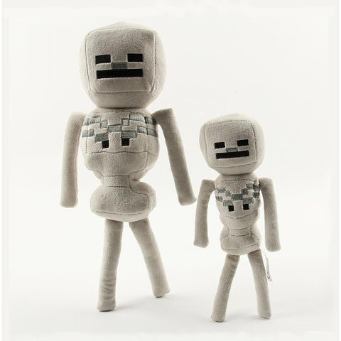 Minecraft Game Skeleton Stuffed Plush Toys Dolls