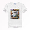 GRAND THEFT AUTO V GTA T-shirt  Breathable quick-drying top Y15 Fashion Brand t shirt men new high quality - GamerGift.net