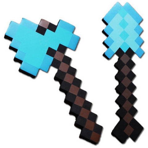Minecraft Axe Shovel EVA Model Toys Children's