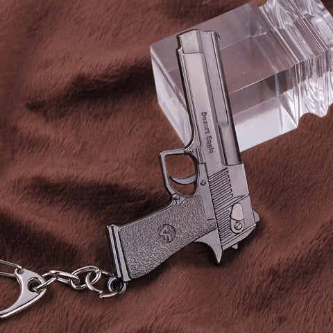 Cs Go Counter Strike Gun Desert Eagle Model Keychain - GamerGift