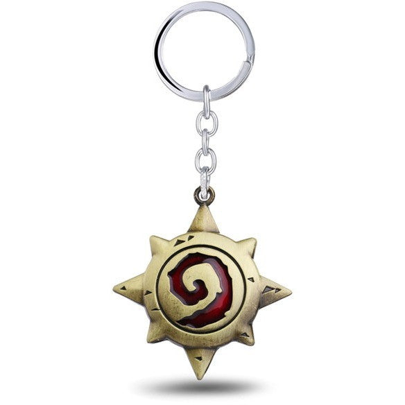 Hearthstone Heroes Metal Keychain For Fans