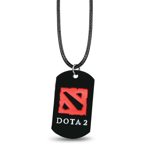 DOTA 2 LOGO Necklace Pendants Collares Alloy - GamerGift