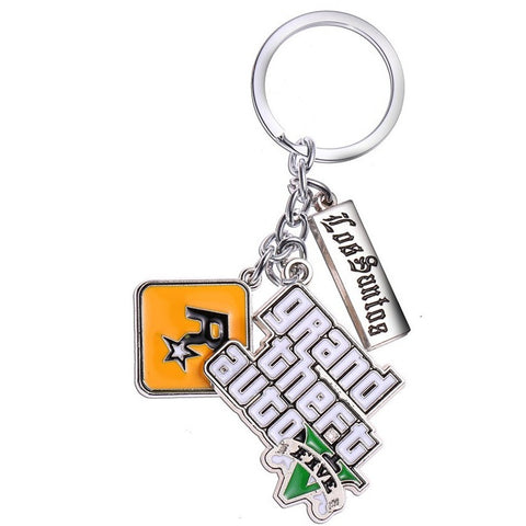Grand Theft Auto 5 Key Chain - GamerGift.net