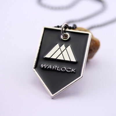 Destiny Necklace TITAN WARLOCK HUNTER Logo 3 Styles Black Pendant Necklaces - GamerGift