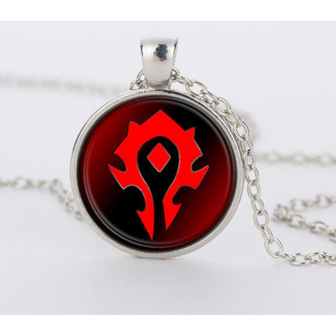 Hearthstone Round Pendant Charm Necklace - loveit-shop