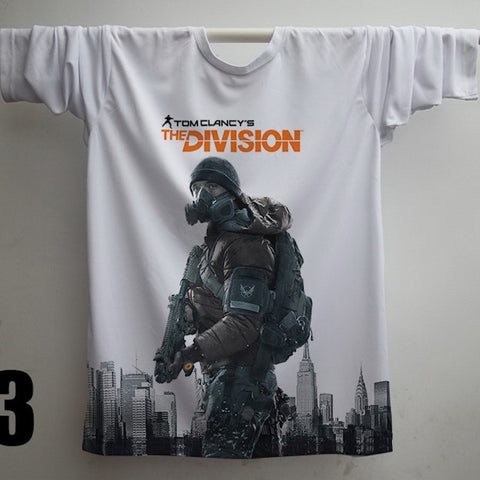 TOM CLANCY'S THE DIVISION 3D MEN T-SHIRTS