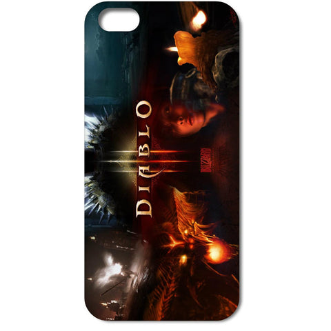 DIABLO 3 white hard cases for iPhone - GamerGift