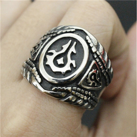 Jewelry Biker Ring Mens World of Warcraft - loveit-shop