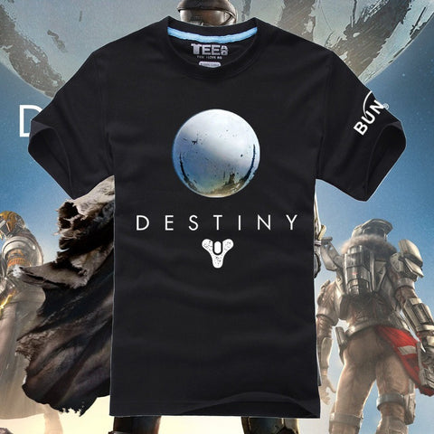 Destiny Plan Games Shoot Logo boy's tee shirt custom o neck - GamerGift