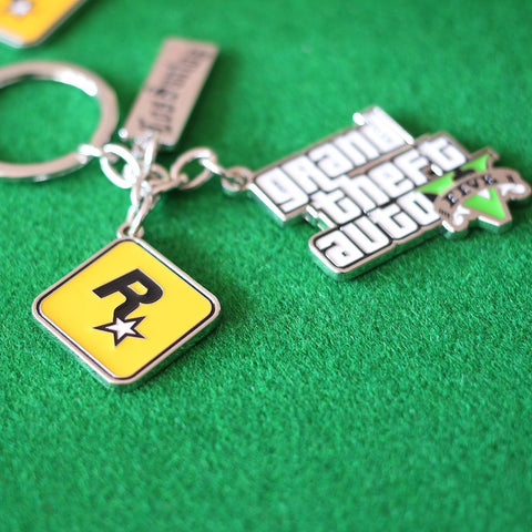 Grand Theft Auto 5 Keychain - loveit-shop