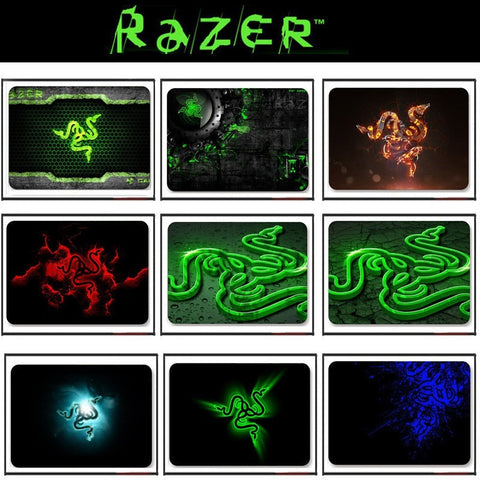 Razer mouse pad gaming mouse mat 300*240*3mm locking edge mouse mat speed version