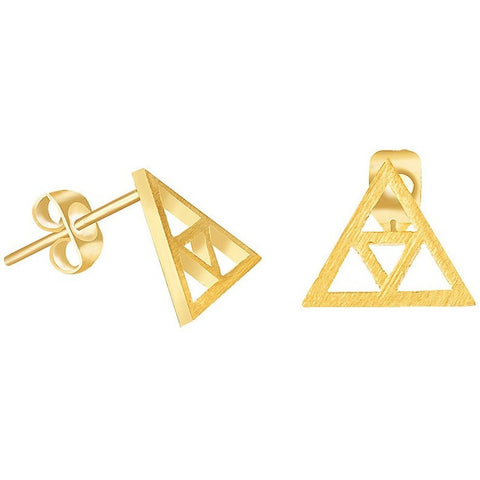 Legend of Zelda Stud Earrings in Gold/Silver/Rose Gold