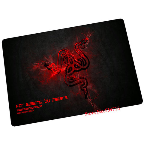 razer mouse pad gaming mouse pad fire red mousepad