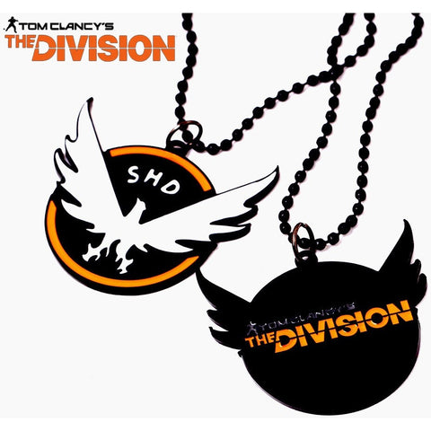 Tom Clancys The Division Eagle Black Link Chain Necklaces