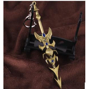 League of legends De Marcia Prince Jarvan Champions Weapon Keychain - loveit-shop