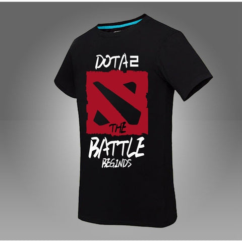 Dota 2 T shirts Short Sleeve Pis Custom Personalized Round Neck Printing - GamerGift