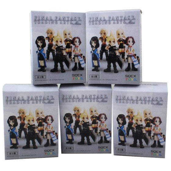 Final Fantasy Cloud Strife/YUNA/Rinoa Heartilly 4cm-6cm PVC Figure Toys Set