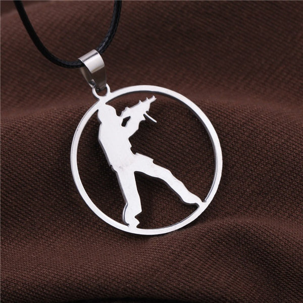 CS GO Stainless Steel Link Necklace For Men