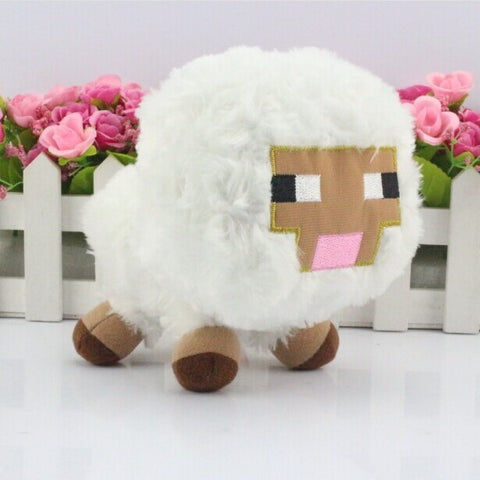 Minecraft Plush sqid plush Baby sheep Toy