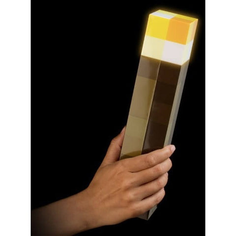 Minecraft Torch LED Minecraft Lamp Hand Held