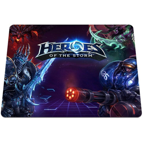 heroes of the storm Pattern Optical Anti-slip Computer Mouse Mat Gaming Pads - loveit-shop