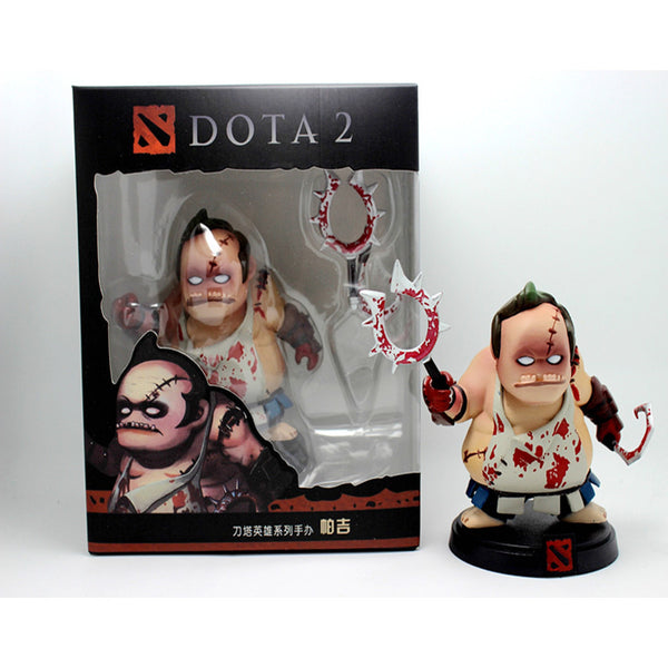 DOTA 2 Game Figure Kunkka Lina Pudge Queen Tidehunter CM FV PVC Action Figures