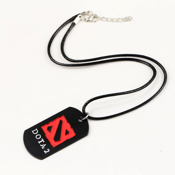 DOTA 2 LOGO Necklace Pendants Collares Alloy