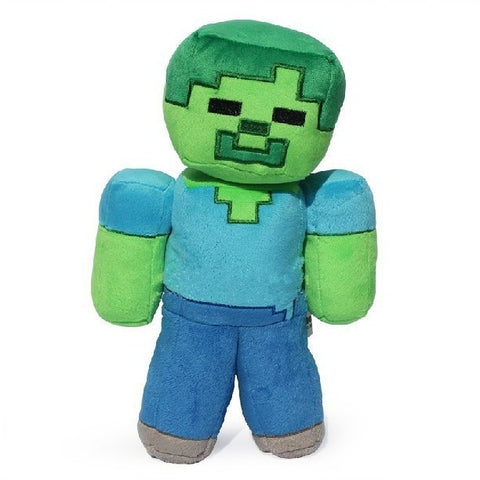 Minecraft Steve Creeper Zombie Soft Stuffed Toy