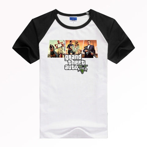 GTA 5 Sitcoms T shirt Men Casual Short-sleeve T-shirt
