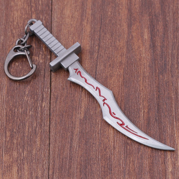 Legend Of League Keychain The Sinister Blade Katarina Weapon Model Key Chain